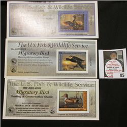 2000-2001 RW67A, 2001-2002 RW68A, & 2002-2003 RW69A Federal Migratory Bird Hunting and Conservation