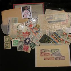 Some Mint, unused Greece Stamps; various Christmas Seals; 1932 Newfoundland Air Mail One Dollar Stam
