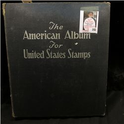 "The remainder of the ""American Album for United States Postage Stamps 1952 Edition from Scott Public"