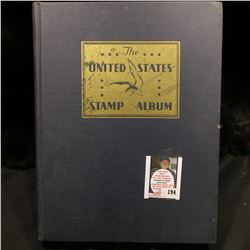 "Used ""The United States Stamp Album"", Copyright 1934. Used. No stamps."