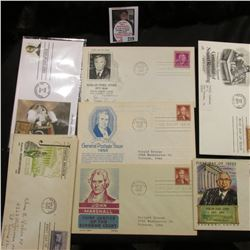 (10) First Day of Issue Covers dating back to 1948.