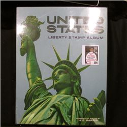 United States Liberty Stamp Album with stamps beginning with Scott #65 1861-62 Issue Civil War Era G
