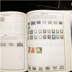 "1923 ""National Postage Stamp Album"" missing some pages. Includes some Revenues, Postage Dues, & Spec"