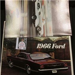 Original Brochures and Advertising Card/Posters: 1966 Ford, 1965 Mustang, 1966 Fairlane; & 1953-78 ""