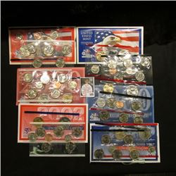 2000, 2002, & 2003 U.S. Mint Sets. Original as issued. Issue price $44.85. $17.46 face value. (3 com