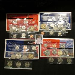 2005 & 2006 U.S. Mint Sets. Original as issued. Issue price $33.70. $11.74 face value. (2 complete M