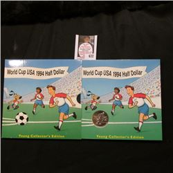"1994 D ""World Cup USA Half Dollar"" Young Collector's Edition in original packaging."