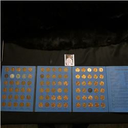 1941-74 Complete Set of Lincoln Cents in a blue Whitman folder, No 1970 S small date.