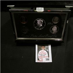 1995 S United States Mint Premier Silver Proof Set in original box of issue.