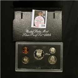 1994 S United States Mint Silver Proof Set in original box of issue.