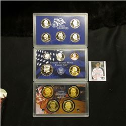 2007 S United States Mint Proof Set in original box of issue.