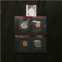 1999 P & D U.S. Susan B. Anthony Dollar Souvenir Two-piece Set in original envelope of issue.
