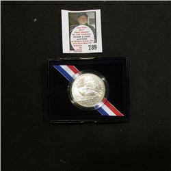 1800-2000 P Uncirculated Library of Congress Commemorative Silver Dollar in original box of issue.
