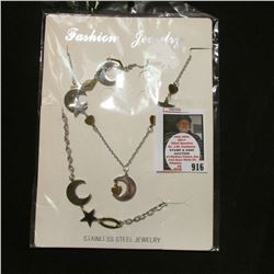 Stainless Steel Fashion Jewelry. Originally priced at $150.00.