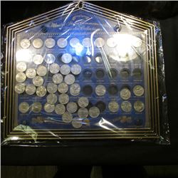 United States Commemorative Quarter Collection in a special holder with a loose lid. Includes all fi