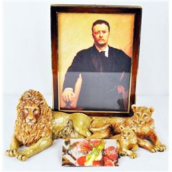 Lion Jungle Edition Jay Strong Water Picture Frame