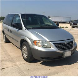 2002 - CHRYSLER VOYAGER // TEXAS REG ONLY