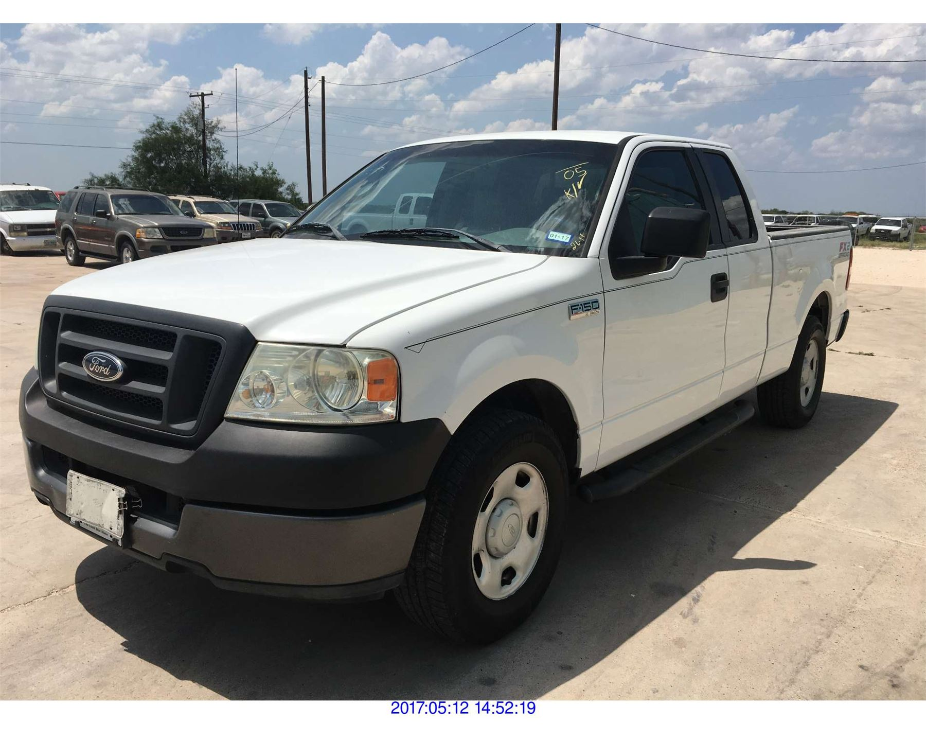 2005 ford f150 texas reg only. Black Bedroom Furniture Sets. Home Design Ideas