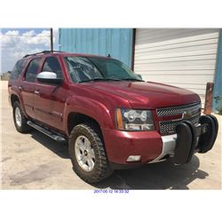 2007 - CHEVROLET TAHOE // TEXAS REG ONLY