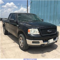 2004 - FORD F-150 // TEXAS REG ONLY