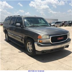 2001 - GMC YUKON // TEXAS REG ONLY