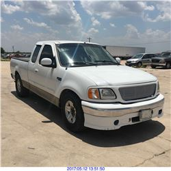 2001 - FORD F-150 // TEXAS REG ONLY