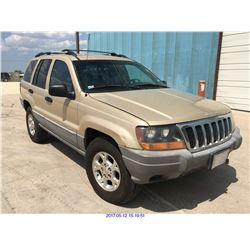 1999 - JEEP GRAND CHEROKEE // TEXAS REG ONLY