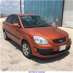 2009 - KIA RIO// REBUILT SALVAGE // TEXAS REG ONLY