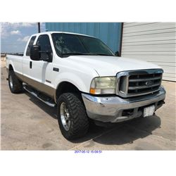 2003 - FORD F-250// DIESEL // TEXAS REG ONLY