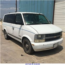 1996 - CHEVROLET ASTRO // TEXAS REG ONLY