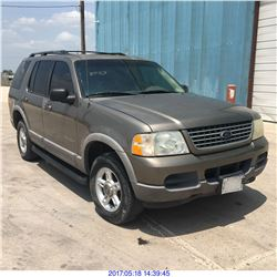 2002 - FORD EXPLORER // TEXAS REG ONLY