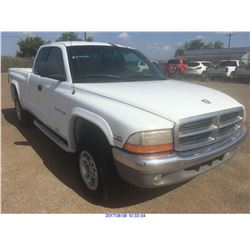 1997 - DODGE DAKOTA // TEXAS REG ONLY