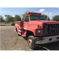 "1991 - GMC C6H042 ""VEHICLE IS OFF SITE"""