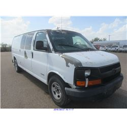 2003 - CHEVROLET EXPRESS 2500 // TEXAS REG ONLY