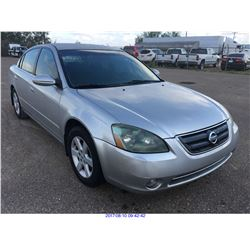 2004 - NISSAN ALTIMA // TEXAS REG ONLY