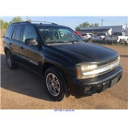 2004 - CHEVROLET TRAIL BLAZER // TEXAS REG ONLY