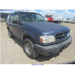 2001 - FORD EXPLORER // TEXAS REG ONLY
