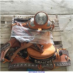 HORSE CUSTOM MADE SADDLE