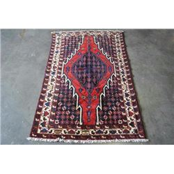 Authentic Hand Made Semi-antique Persian Mazlaghan 4X6