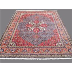 Delightful and Intricate Hand woven Persian Tabriz Rug