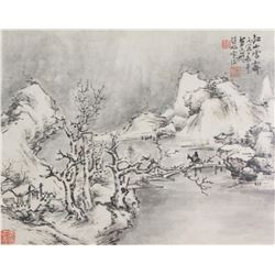 Zhao Mengfu 1254-1322 Watercolour on Paper