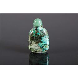 Chinese 18/19th C. Turquoise Snuff Bottle