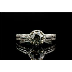 0.92ct Diamond & 0.14ct Diamond Ring CRV$19800