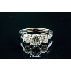 1.05ct Diamond & 0.65ct Diamond Ring CRV $12000
