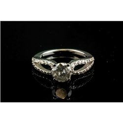 1.05ct Diamond &0.38ct Diamond Ring CRV$7822