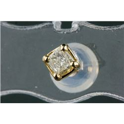 14k Yellow 0.20ct Diamond Stud Earrings CRV$825