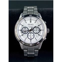 Seiko Chronograph Men's Watch RV $300
