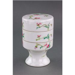 Chinese Famille Rose Porcelain Case Qianlong