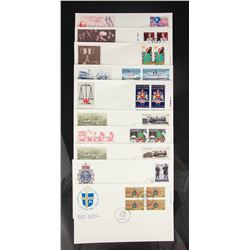 18 PC Assorted Canada Stamp with Envelopes