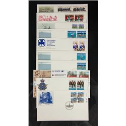 20 PC Assorted Canada Stamp with Envelopes